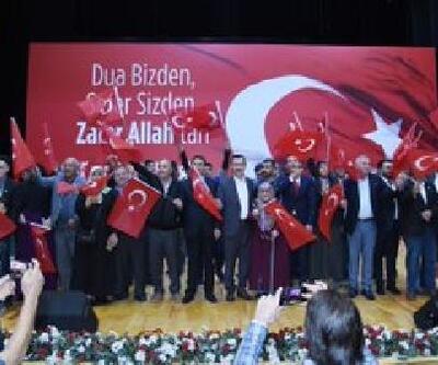 Altındağ'da Mehmetçik için 'dua' gecesi