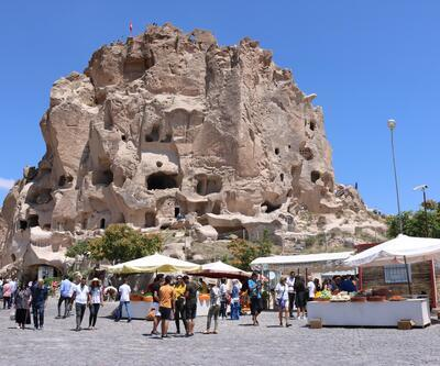 Uçhisar Kalesi'ne 9 ayda 256 bin ziyaretçi
