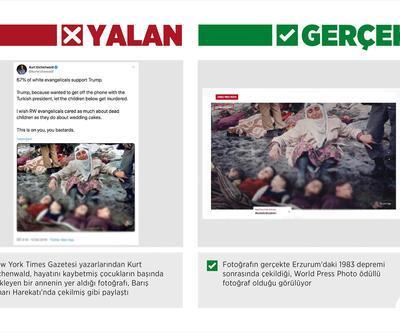 """ABD'li yazardan """"ödüllü fotoğrafla"""", Barış Pınarı aleyhinde manipülasyon çabası"""