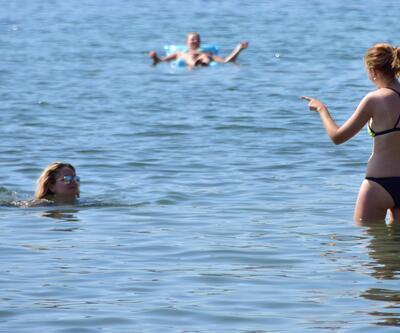 Bodrum'da Ekim ayında yaz keyfi sürüyor