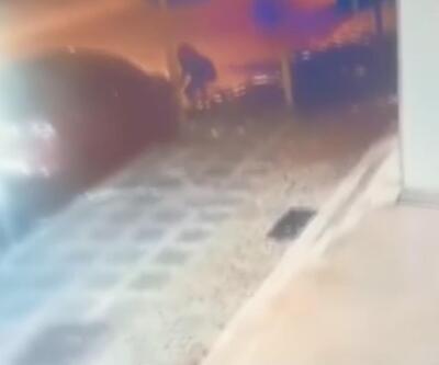 Far hırsızları kamerada