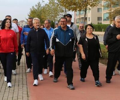 Nilüfer'de 'Sağlığa Adım At' etkinliği