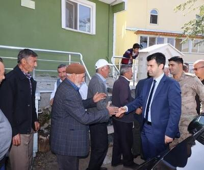 Suşehri Kaymakamı Sarı'dan köy ziyaretleri