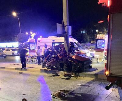 3 arkadaşı trafik kazası ayırdı