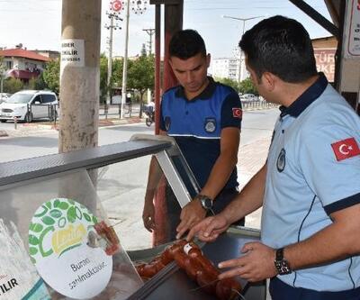 Tarsus'ta zabıta ve sağlık ekiplerinden işyerlerine denetim