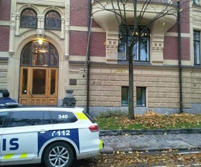Finlandiya'daki Türk büyükelçiliğine saldırı