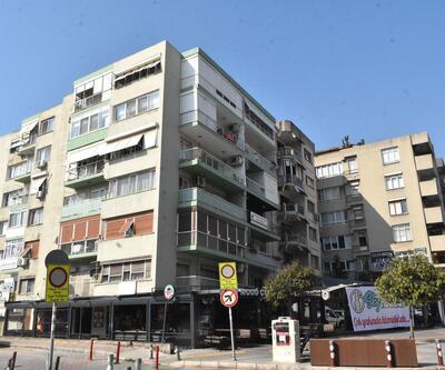 İzmir'de yatık duran binalara tahliye