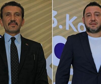 Rüştü Reçber ile Nihat Kahveci'den Barış Pınarı Harekatı'na destek
