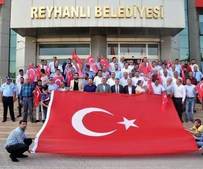 Reyhanlı belediye meclisinden 'Barış Pınarı Harekatı'na destek