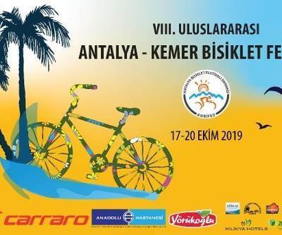 Kemer'de Bisiklet Festivali düzenlenecek
