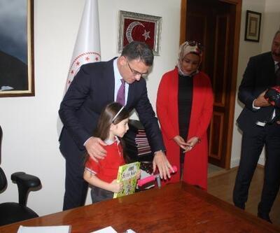 Trafik videosu minik Duru'ya ödül getirdi