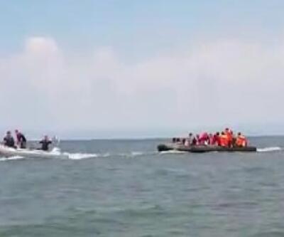 Meriç Nehri'nde 37 kaçak göçmen yakalandı