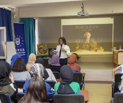 Bursa'da 'doğudan gelen ışık' liseli gençlere anlatılıyor