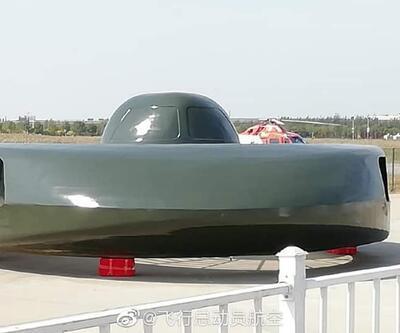 İşte Çin'in savaş 'UFO'su