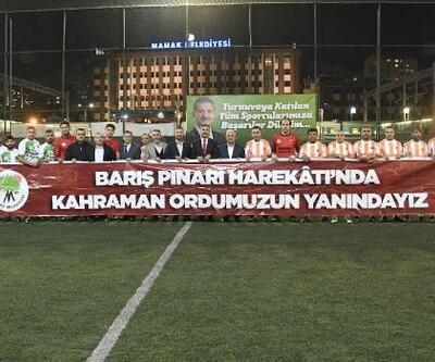 Mamak'ta 'Mahalleler Arası Futbol Turnuvası' başladı