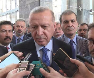 Son dakika... Cumhurbaşkanı Erdoğan'dan ABD ziyareti ile ilgili önemli açıklama