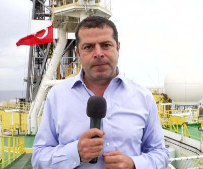 Cüneyt Özdemir ile 5N1K Fatih gemisine girdi, nasıl doğalgaz aradığını görüntüledi