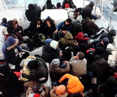 Bodrum'da 35 düzensiz göçmen yakalandı