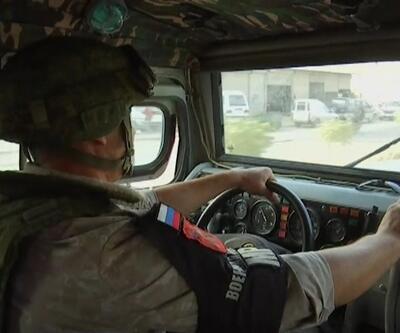 """""""Rus askeri polisi ilk kez devriye yaptı"""""""