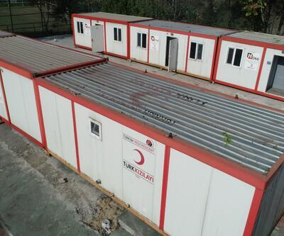 Zarar gören Veteriner fakültesi konteynerlerde hizmet verecek