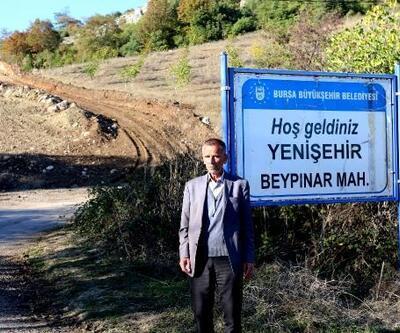 Yenişehir'de arazi yolları düzenleniyor