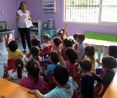 Seyhan Belediyesi'nden miniklere sağlıklı gıda eğitimi verildi