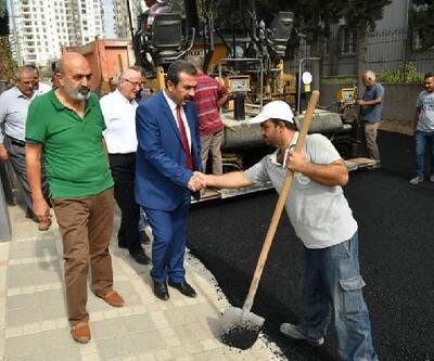 Soner Çetin'den asfalt denetimi