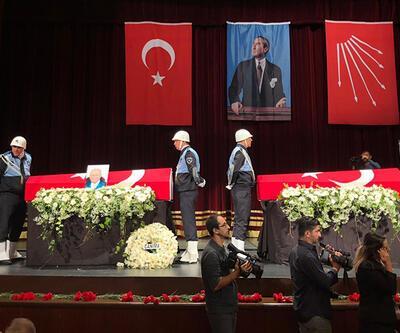 Orhan Birgit ve Ali Topuz son yolculuklarına uğurlandı