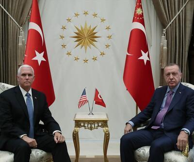 Son dakika... Cumhurbaşkanı Erdoğan, Pence ile görüşüyor