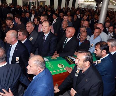 MHP'li Semih Yalçın'ın oğlunun cenazesi toprağa verildi