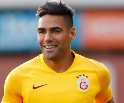 Radamel Falcao Sivasspor maçında oynayacak mı?