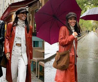 Kız kıza tatil! Başak ile Tanem Paris'te...