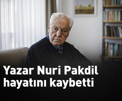 Yazar Nuri Pakdil, hayatını kaybetti