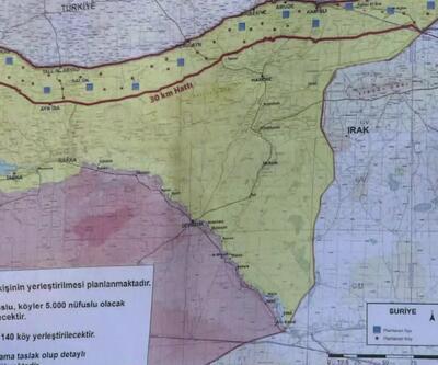 Son dakika... Cumhurbaşkanı Erdoğan harita üzerinden gösterdi: İşte güvenli bölgede kurulacak 12 gözlem noktası