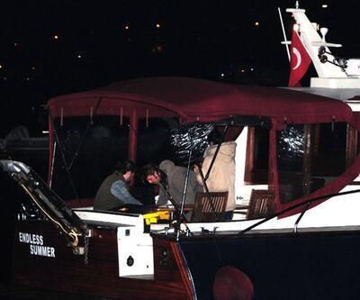 Engin Altan Düzyatan ve Neslişah Alkoçlar gece yarısı balığa çıktılar