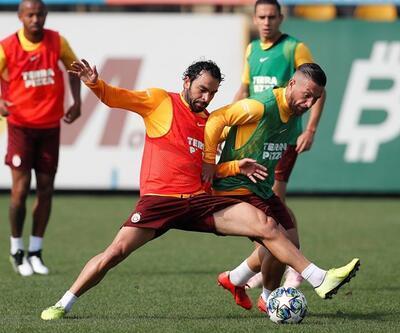 Galatasaray, Real Madrid maçına hazırlanıyor! Falcao ayrı çalıştı
