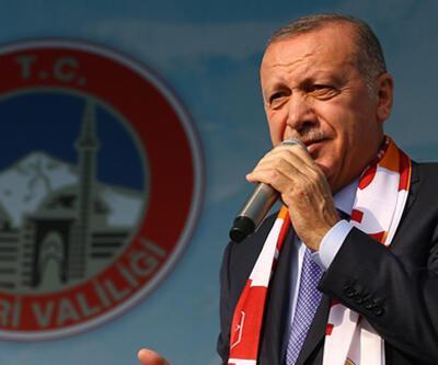 Cumhurbaşkanı Erdoğan'dan Kayseri'de önemli açıklamalar