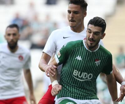 Bursaspor 3 dakikada 2 gol attı