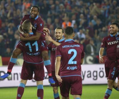 Trabzonspor 4-1 Gaziantep FK / MAÇ ÖZETİ