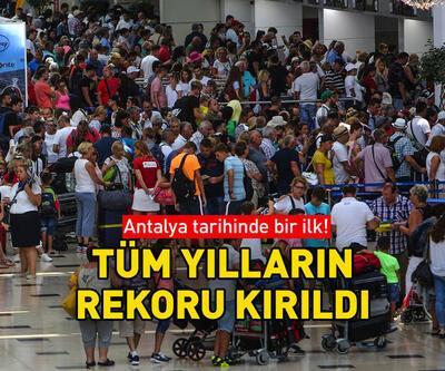 Antalya'da tarihi rekor!