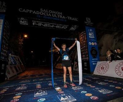 Salomon Cappadocia Ultra-Trail 2019'da 119 kilometrelik parkurun birincisi Yannick Noel oldu