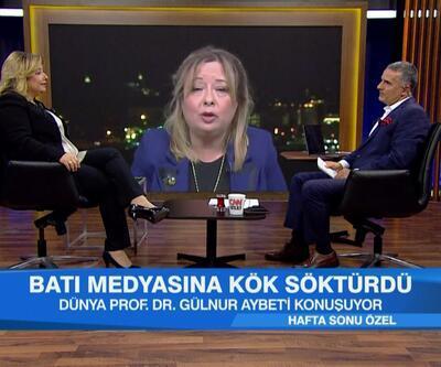Gülnur Aybet, Türkiye'nin sahada ve masadaki zaferinin ayrıntılarını Hafta Sonu Özel'de anlattı