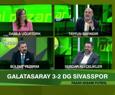 Denizlispor 1-2 Fenerbahçe, Trabzonspor 4-1 Gaziantep FK, Galatasaray 3-2 Sivasspor maçlarının analizi Pazar Akşamı Futbol'da ekrana geldi