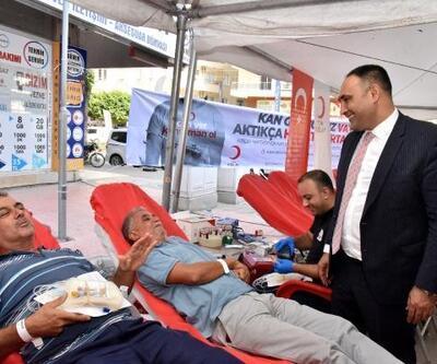 Toroslar'dan kan bağışına destek