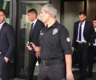 Galatasaray'ın rakibi Real Madrid İstanbul'a geldi