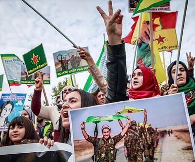 Avrupa'nın reddettiği 'YPG/PKK bağlantısı' kendi sokaklarında
