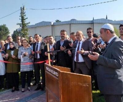 Yeniçağa'da Millet Bahçesi açıldı