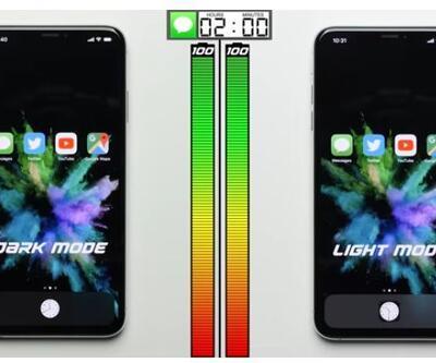 Karanlık mod batarya kullanımına nasıl etki ediyor?