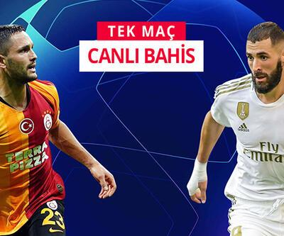 Galatasaray-Real Madrid maçına Misli.com'da CANLI OYNA!