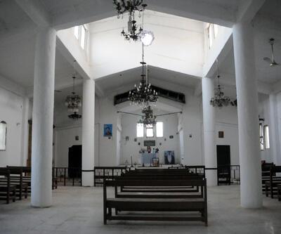 Tel Abyad'daki kiliseyi önce DEAŞ sonra PKK karargah olarak kullanmış